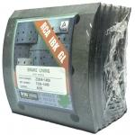 Фото тормозные накладки rca ibk gl z3206-1400. (8 шт. с клепками) колодки барабанные