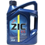 масло моторное zic x5 10w-40 sm, 4l