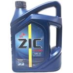 Фото масло моторное zic x5000 10w-40 ci-4/sl. 6 л. моторные масла